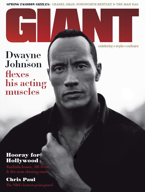 Dwayne Johnson's Giant Cover