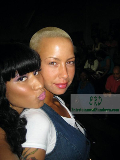 nicki minaj and drake kiss. Amber Rose Nicki Minaj