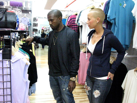 amber rose and kanye west pictures. kanye-west-amber-rose_american