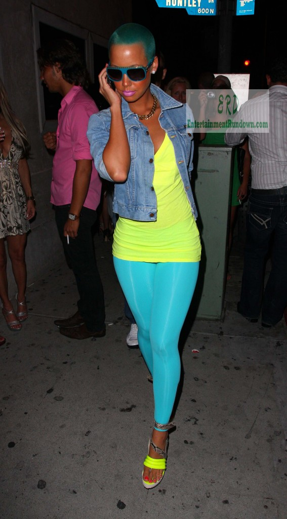 amber rose with hair pictures. I#39;m Amber Rose, How Do I Look?