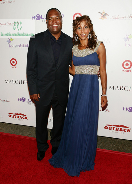 Holly Robinson Rodney Peete