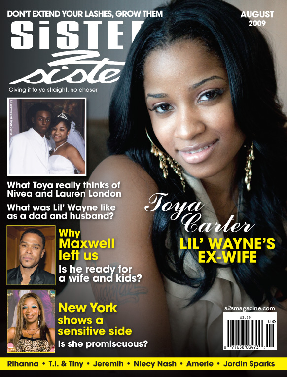 Toya Carter is the cover story for the August issue of Sister To ...
