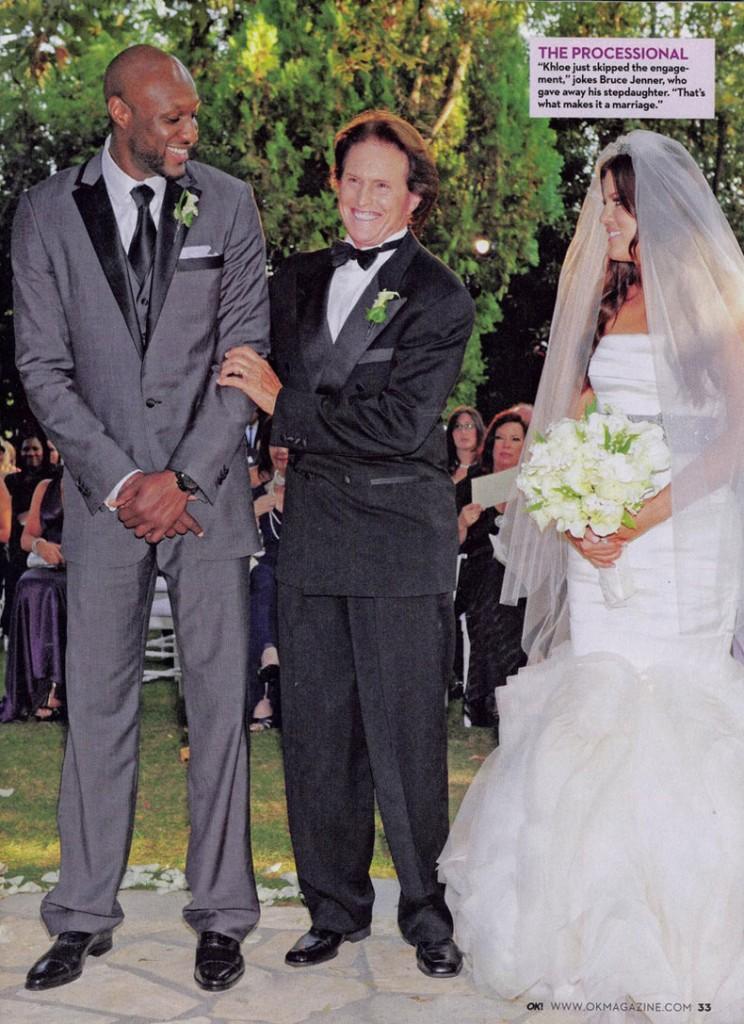 Khloe Lamar Odom OK! Wedding 10