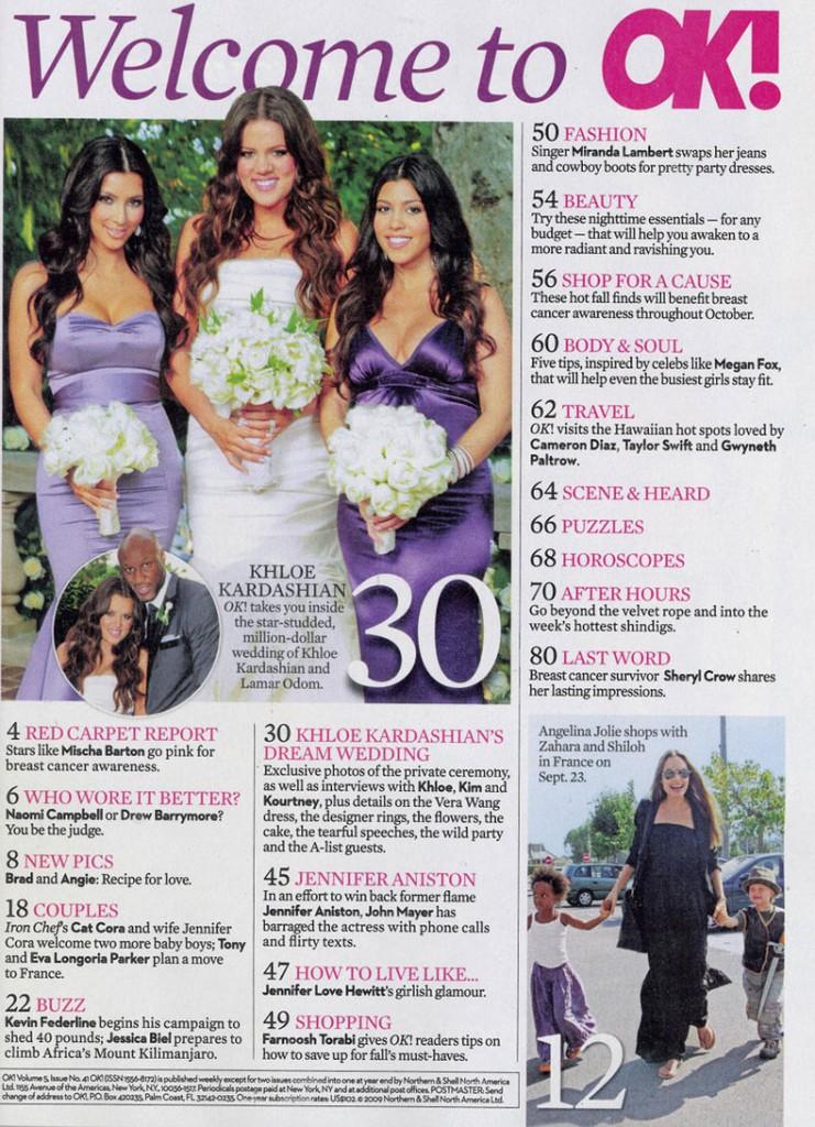 Khloe Lamar Odom OK! Wedding 12