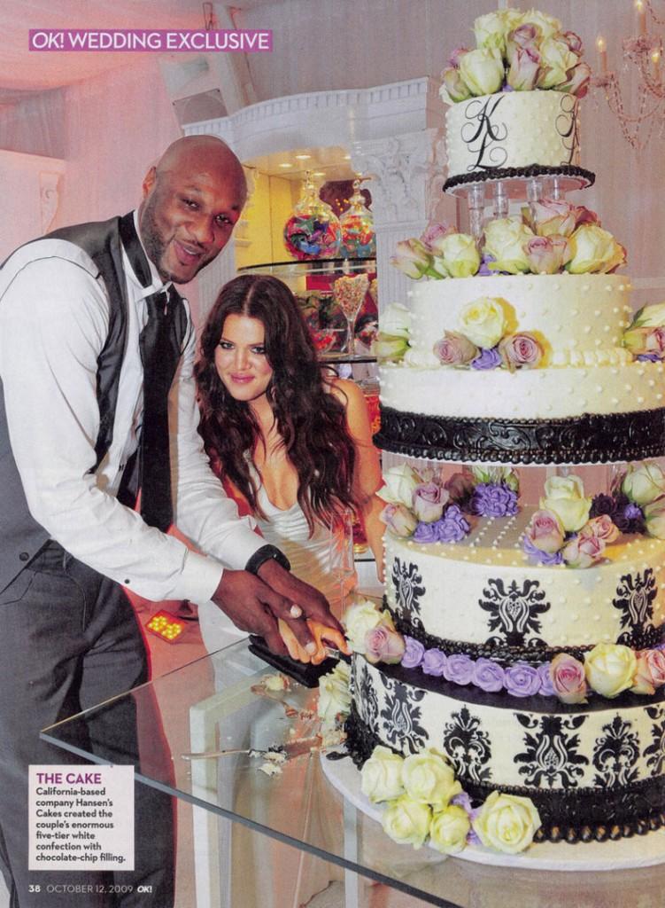 Khloe Lamar Odom OK! Wedding 5