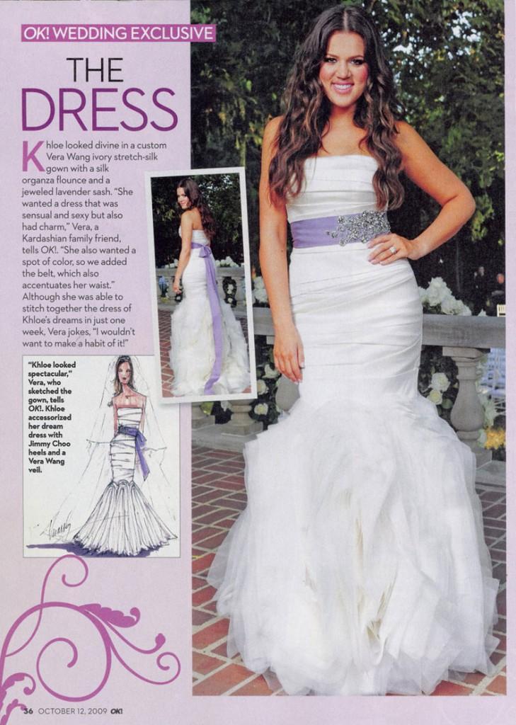 Khloe Lamar Odom OK! Wedding 7