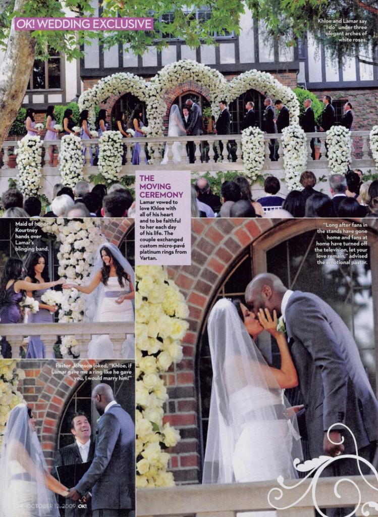 Khloe Lamar Odom OK! Wedding 9