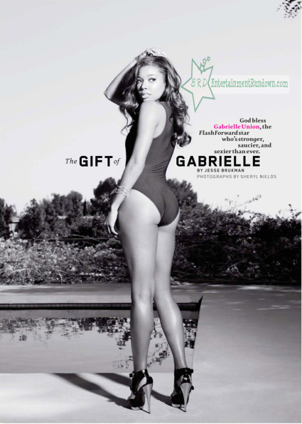 Gabrielle Union Maxim wm
