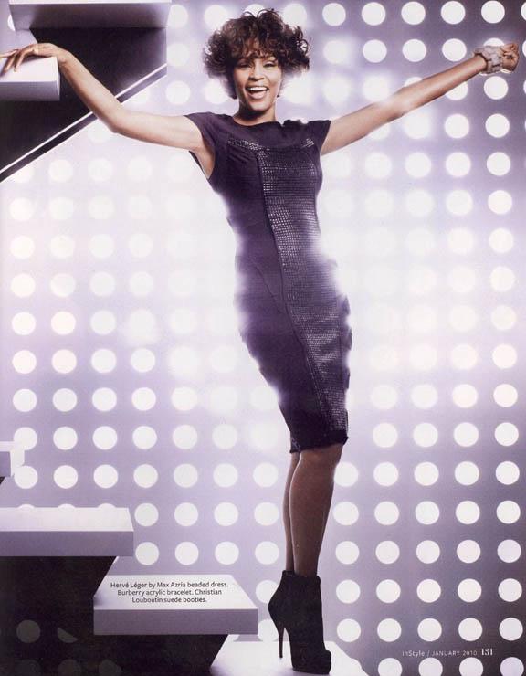 Whitney Houston Covers Instyle Magazine Entertainment