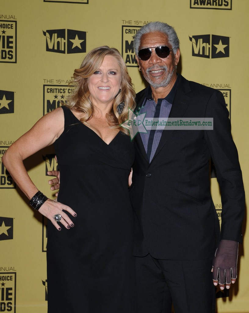 Morgan Freeman and his date was there. She has been seen a lot with