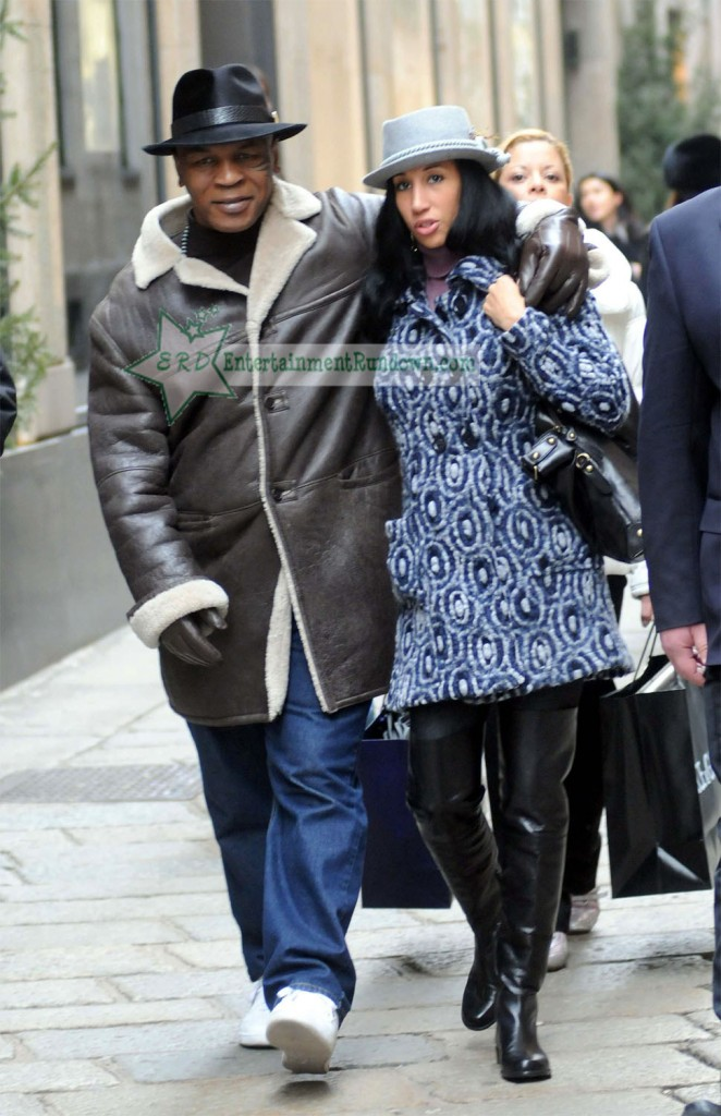 Spotted: Mike Tyson & Wife In Milan. Entertainment Rundown / 28th Jan 2010