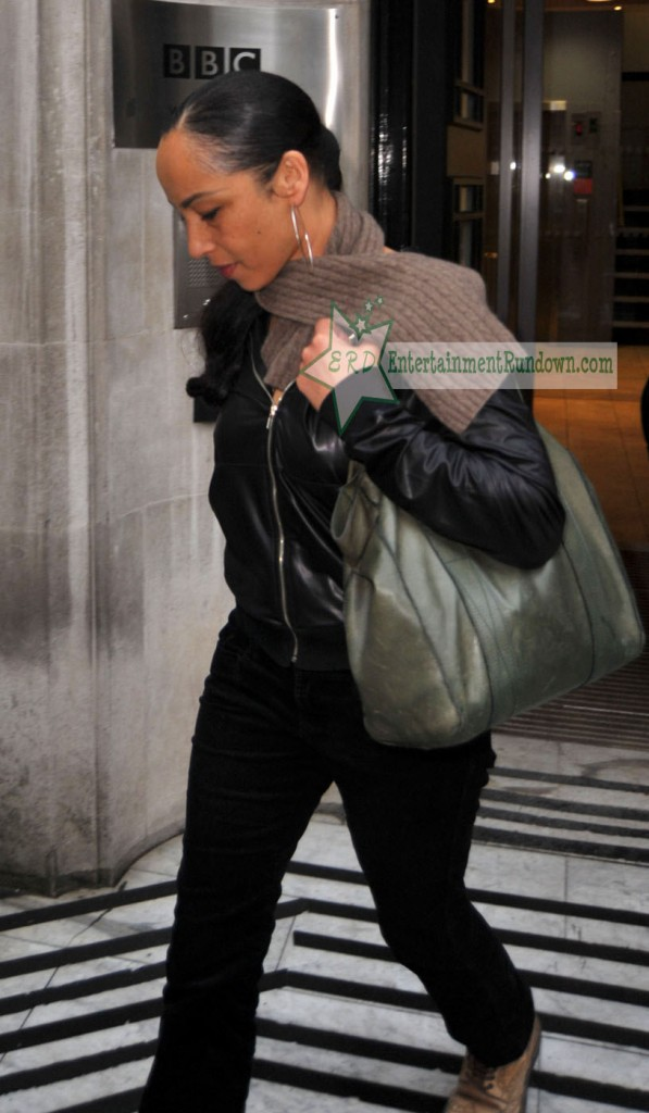 Sade Leaving BBC Radio 2 Studios (USA ONLY)