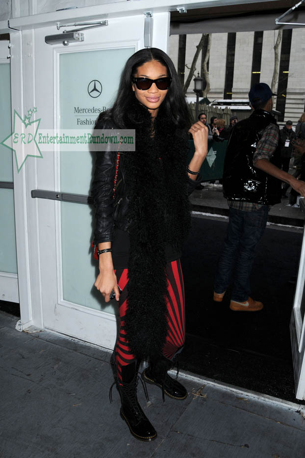 chanel iman boyfriend 2011. chanel iman boyfriend. Spotted: Chanel Iman At NY