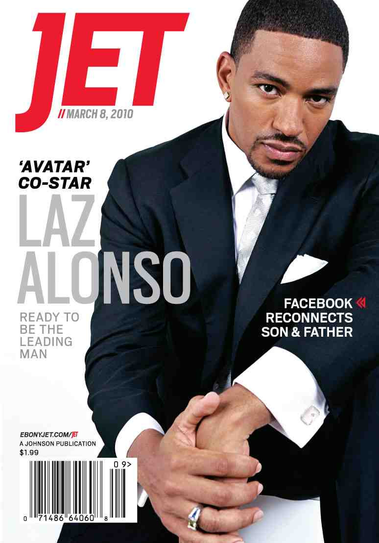 Laz Alonso Covers Jet Magazine | Entertainment Rundown