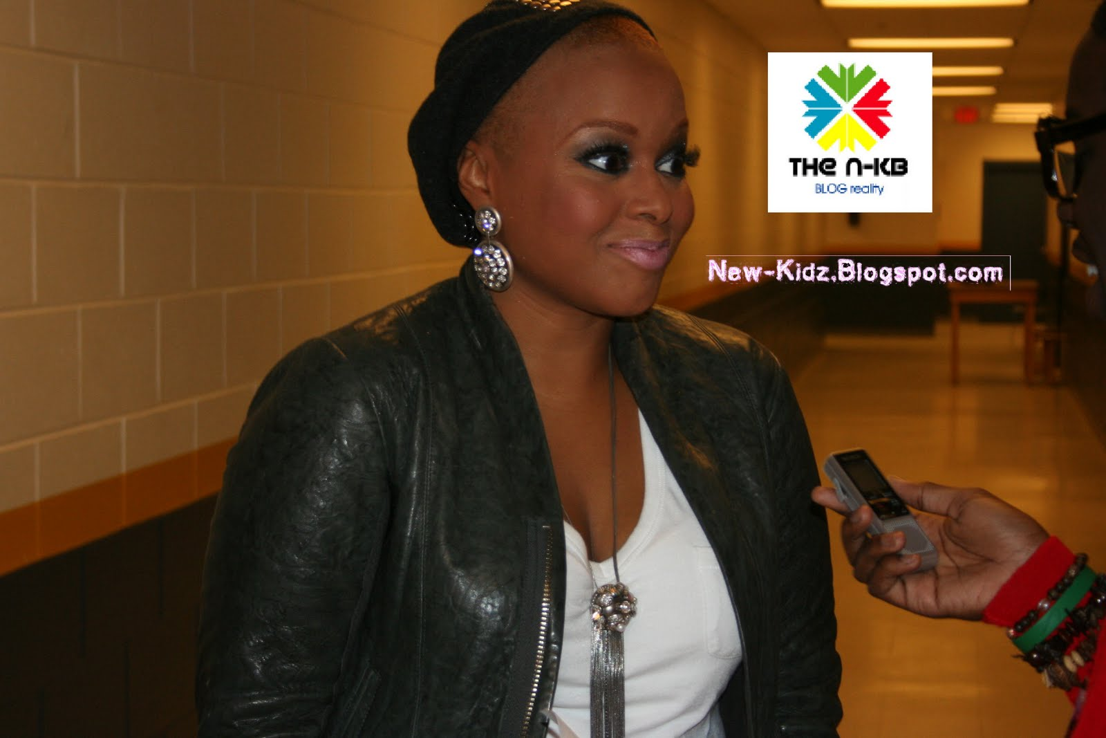 Chrisette Michele New Hair Cut