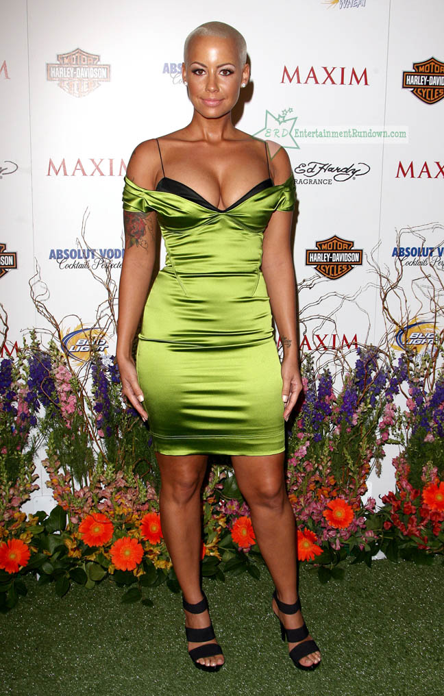 Who is amber rose dating