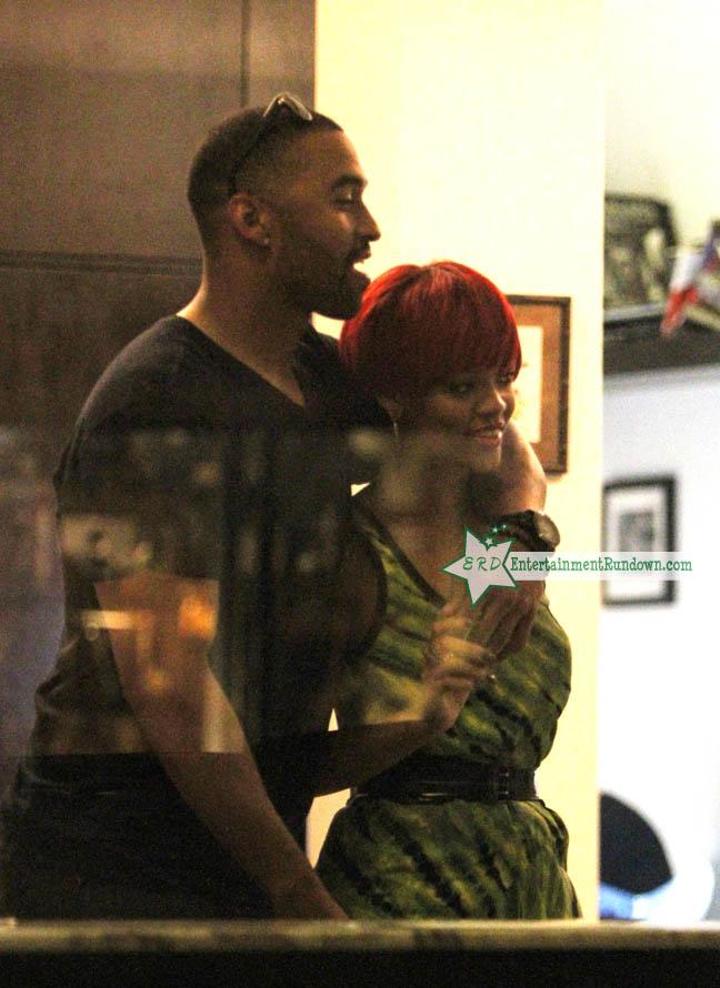 Rihanna Amp Matt Kemp S Night Out In Nyc Entertainment Rundown