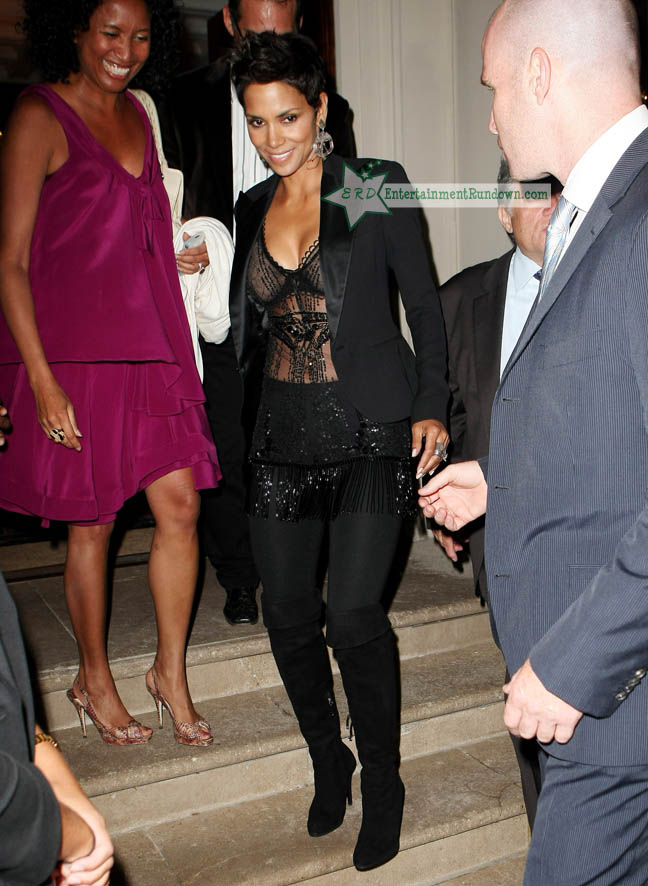 Halle Berry Attends Fashion's Night Out