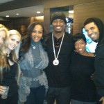 Vivica Fox Slimm Drake Super Bowl