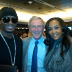 Vivica Fox Slimm George Bush Super Bowl