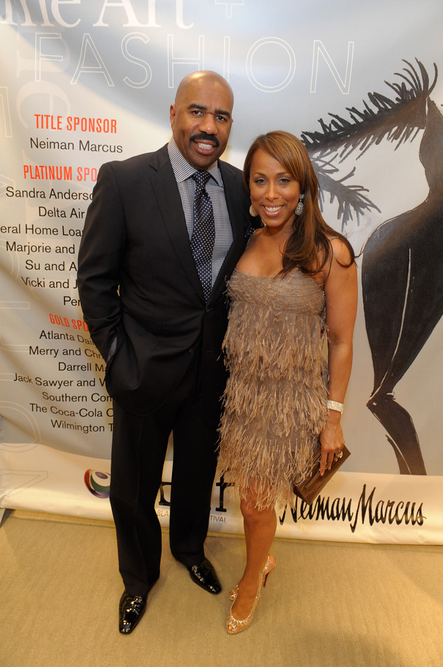 Steve Harvey Hosts The 5th Annual Fine Art + Fashion NBAF Benefit