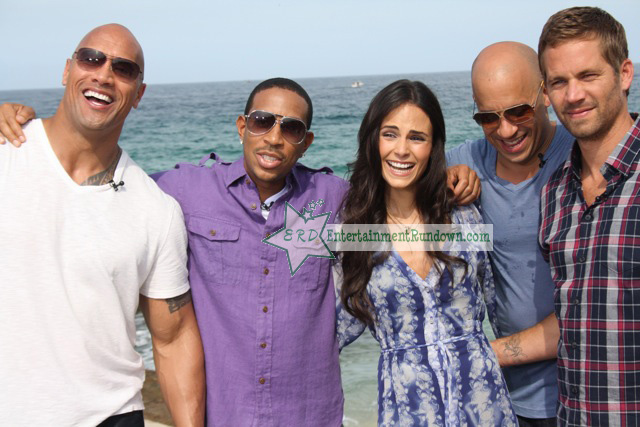 ... Jordana Brewster, Vin Diesel, Paul Walker and Tyrese Gibson were all in ...