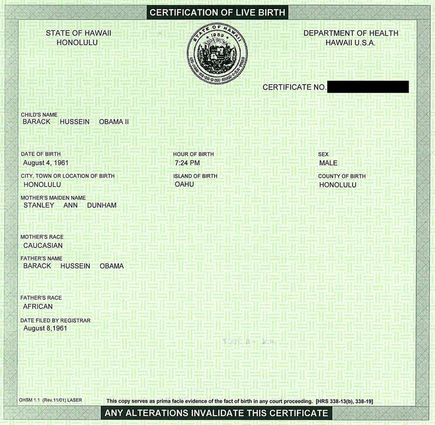 President Obama Releases Birth Certificate | Entertainment Rundown