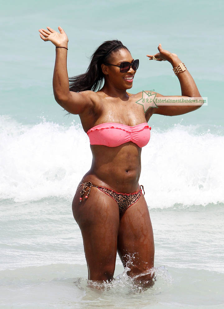Serena Williams & Her Teeny Weeny Bikini