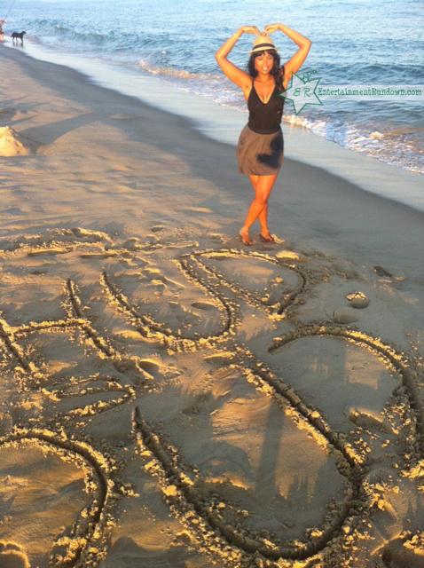 Snapshots: Jennifer Hudson At The Beach | Entertainment ... | 478 x 640 jpeg 330kB