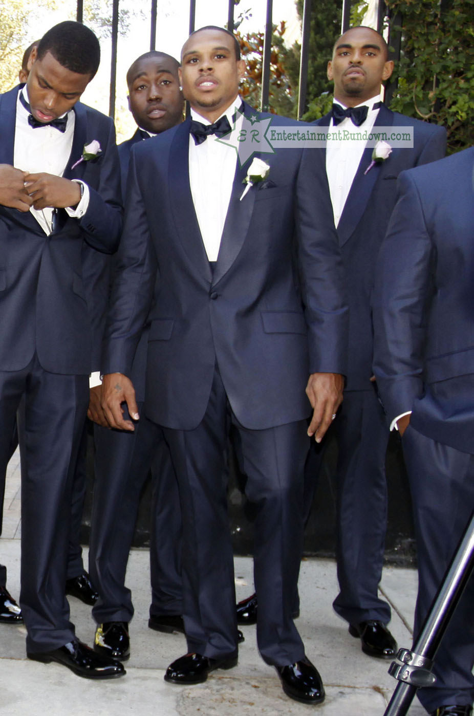 Photos Celebs Attend Monica Shannon Browns Wedding