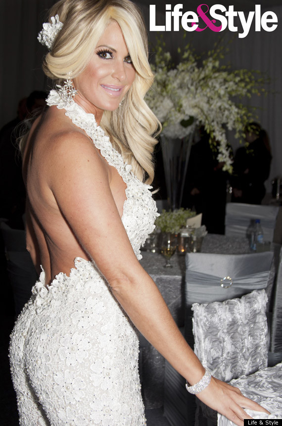 Kim zolciak39s wedding to air on bravo special for Kim zolciak wedding dress