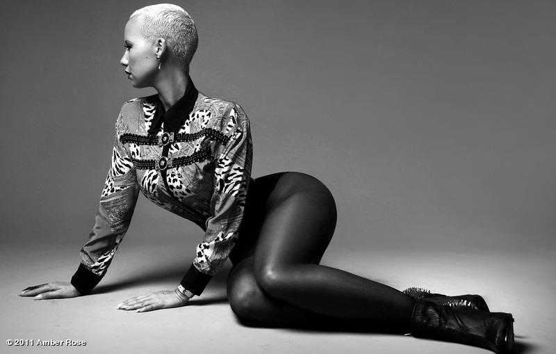 Snapshots Amber Roses New Black And White Photo Shoot