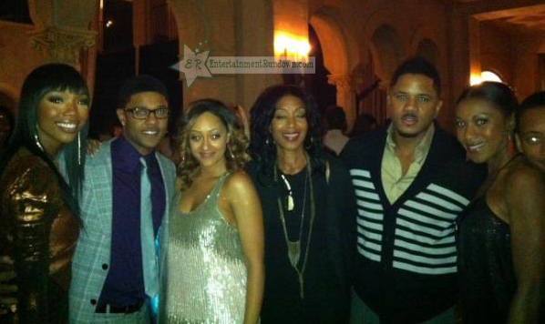 Tia Mowry Pooch Hall Brandy Hosea Chanchez The Game Season 5 premiere
