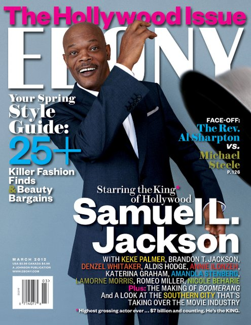 EBONY MAGAZINE SAMUEL L. JACKSON