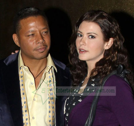 Terrence Howard is spotted leaving Beso restaurant holding hands with a mystery woman amid divorce drama with his ex-wife, Michelle Ghent