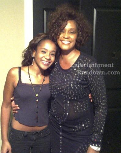 Whitney Houston Bobbi Kristina Brown wm