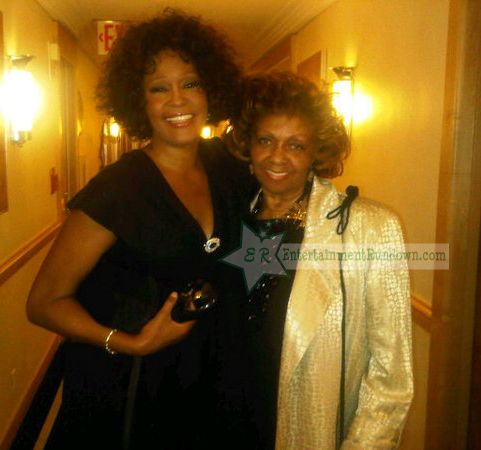 Whitney Houston Cissy Houston wm