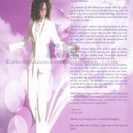 Whitney Houston Funeral Program Page 11