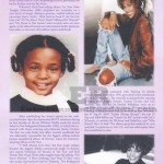 Whitney Houston Funeral Program Page 2