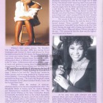 Whitney Houston Funeral Program Page 3
