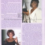 Whitney Houston Funeral Program Page 5
