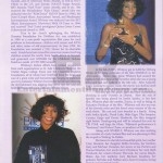Whitney Houston Funeral Program Page 6