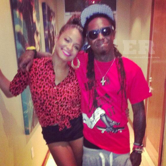 Christina Milian Lil Wayne Miami