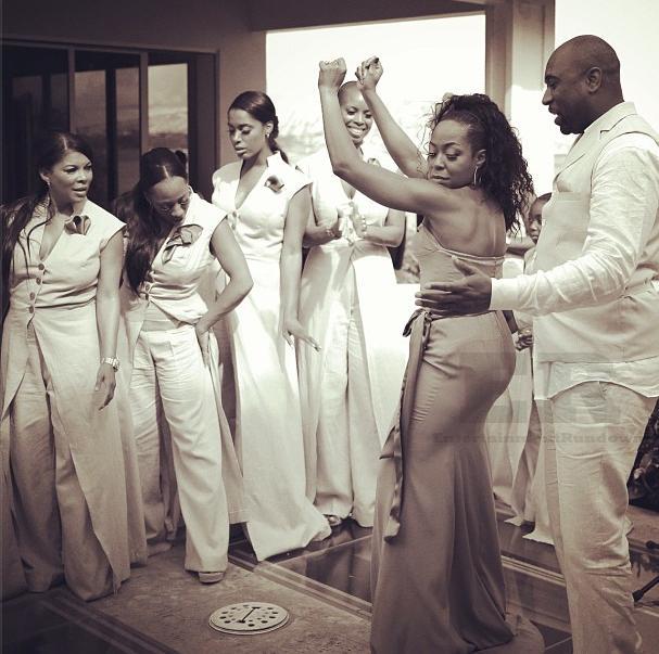 tichina arnold gets married hawaii dancing entertainment