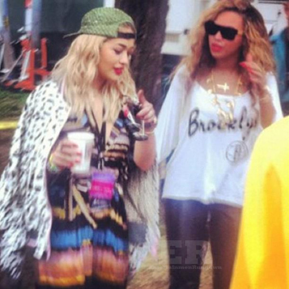 Beyonce Rita Ora Philly Made In America