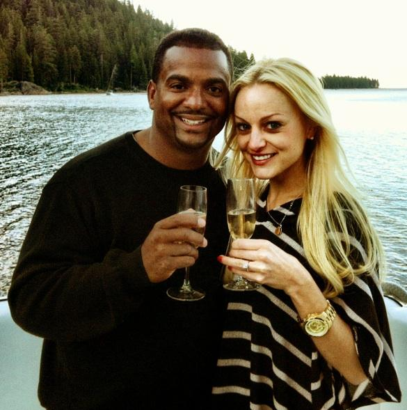 Alfonso Ribeiro Angela Unkrich Married 2