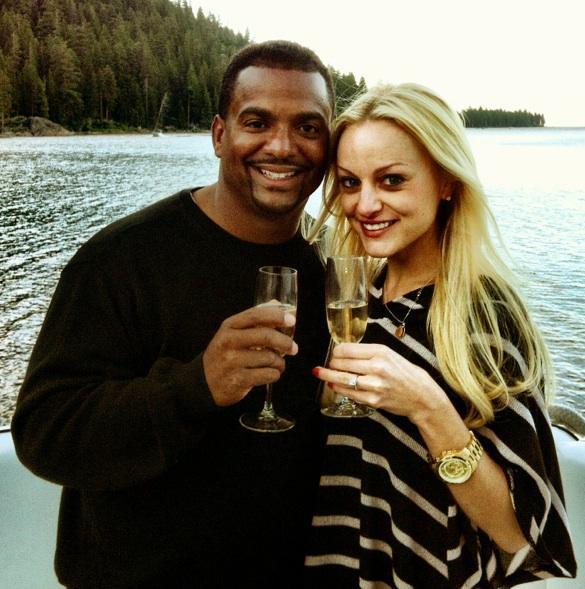 Alfonso Ribeiro Angela Unkrich Married 2
