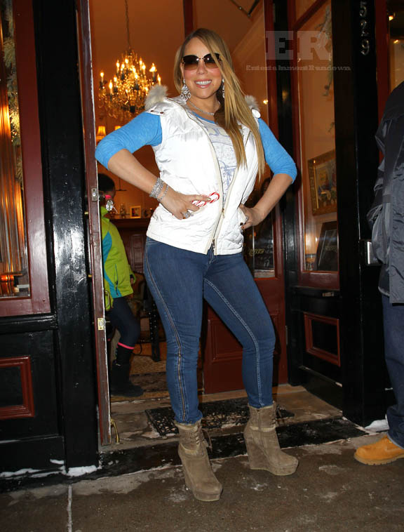 Mariah Carey Supports The Aspen Economy