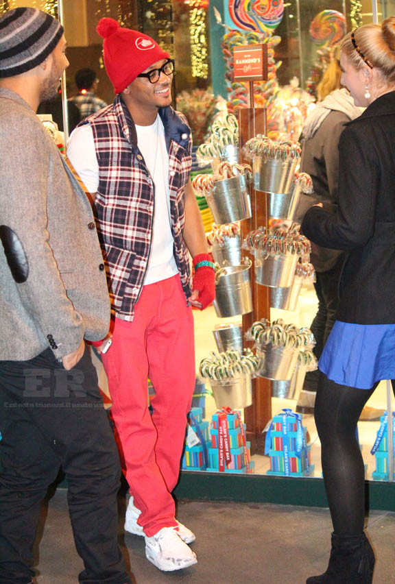 Celebrities Go Christmas Shopping At The Grove