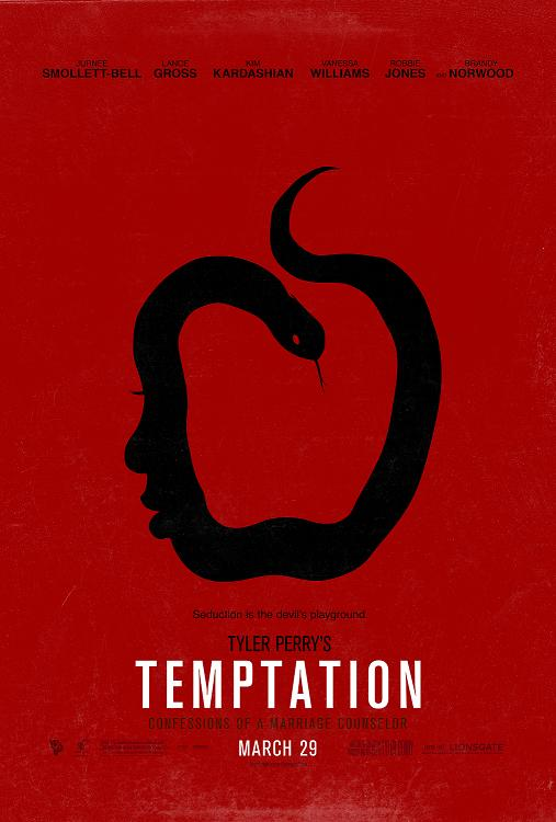 Tyler Perry Temptation Movie Poster